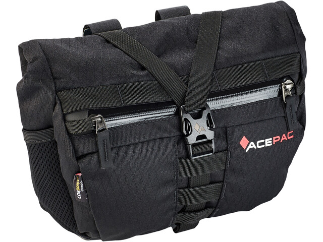 Acepac Bar Bag Fietstas zwart